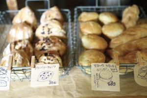 パンの販売もあります